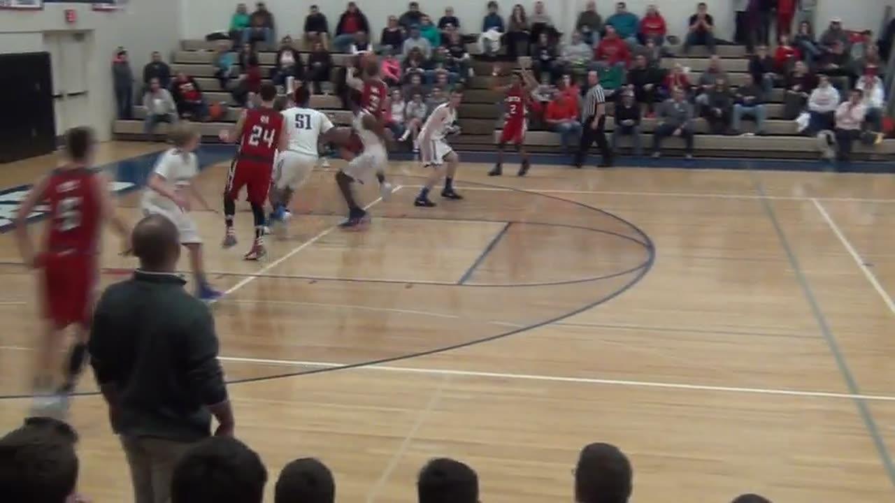 Michigan Center High School vs. Adrian Lenawee Christian - Austin McKenzie highlights