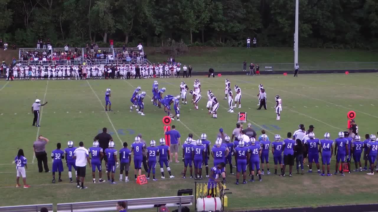 Lackey High School vs. North Point High - James Tunstall ...