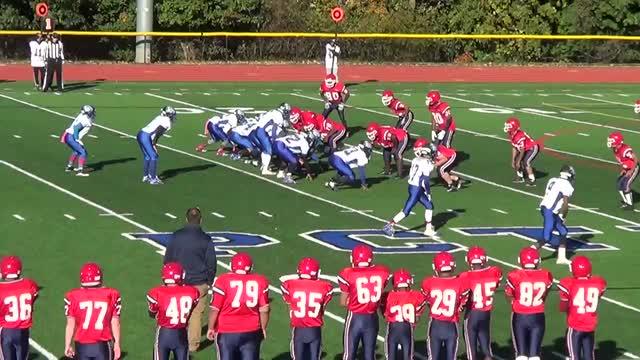 Boys Freshman Football Passaic County Technical Institute Wayne