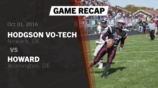 boys varsity football hodgson vo tech high school newark